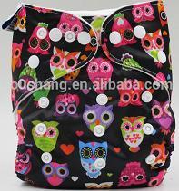 2015newborn baby single tow snaps cloth diapers love baby nappy contain inserts wholesale