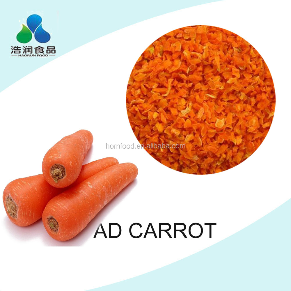 air dehydrated carrot flake