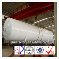 ASME LAr/LIN/LOX/LNG/LCO2 Cryogenic Storage Tank for Chemical Industry 150m3 Storage Tank