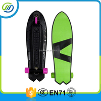Factory price 3 wheels kick skateboard/ fish skatebodard for sale