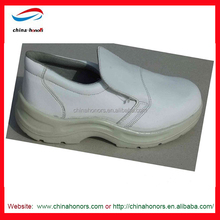 white food factory safety shoes/food industry safety shoes