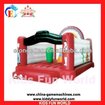 2014 Popular outdoor playground, kids jumping castle inflatable castle, PVC air bouncer