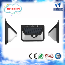 High Quality super bright Motion sensor wall light wall light modern with high efficiency solar panel