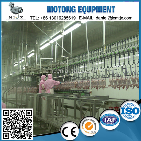 chicken slaughtering equipment broiler and layer chicken slaughter