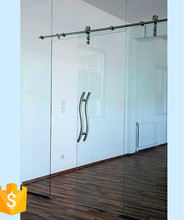 sliding tempered glass door runners
