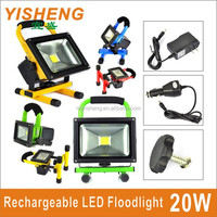 IP65 High Power Rechargeable LED Floodlight 10W 20W 30W 50W Portable Emergency LED Worklight Outdoor