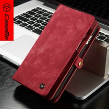 trend 2017 CASEME , fashion wallet leather case for iPhone 5 SE 6 6Plus Moible Phone Cover