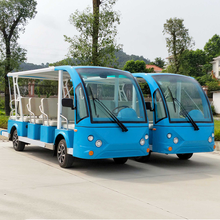 China best price 14 Seats Electric Sightseeing tour electric tour bus with CE certification