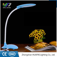 CE RoHS Certification Modern table desk lamp Touch Sensor LED Bed Reading Light