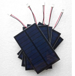 custom made solar panel 5v 0.7w include cable and jst connectors