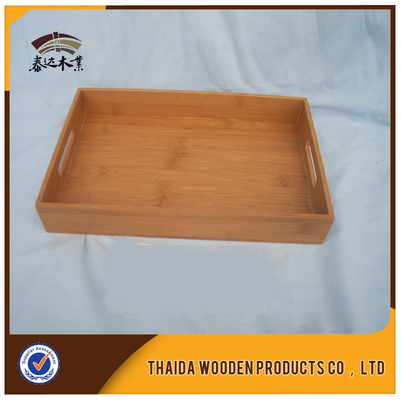 Wholesale Wooden Bread Serving Plates Tray