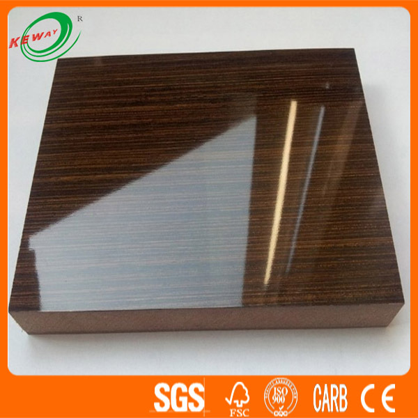 Decorative Product Board : Decorative high glossy uv board for kitchen cabinet boards