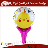 Cartoon helium balloon, chicken balloon, balloons foil