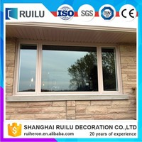 large fixed customization stained glass window