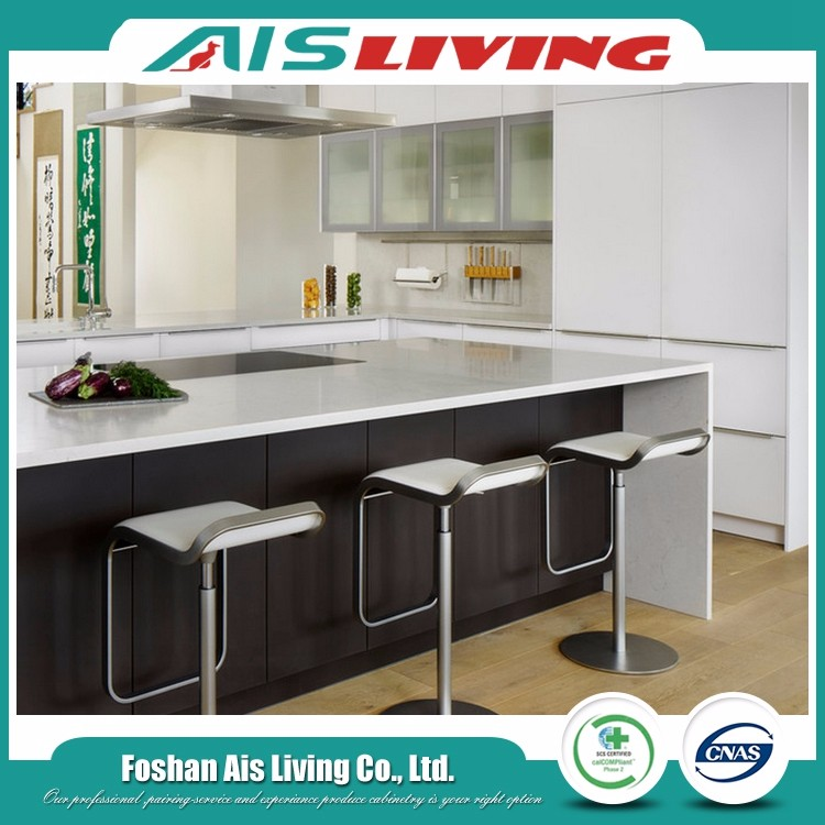 2017 new design country project french kitchen cabinets (AISKI-86)