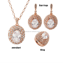 dubai gold plated jewelry set , fashion wedding jewellery sets designs for women