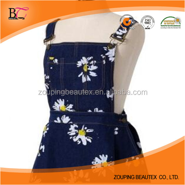 Hot Sale wholesale 100% cotton printing denim fabric for making clothes