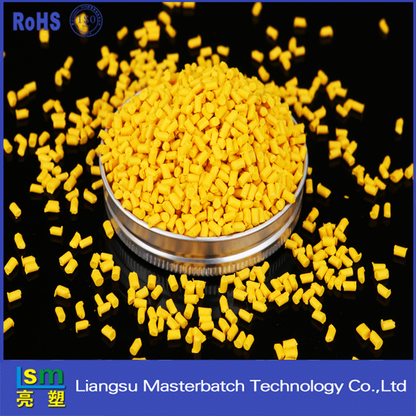 polypropylene resin factory direct sales yellow masterbatch abs plastic pellets