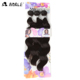 New fiber Noble Gold Synthetic hair weaving, 100% best selling body wave long style in Africa