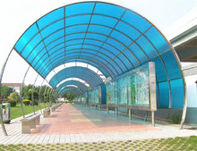 FRP fiberglass roof sheet for plastic rain door cover