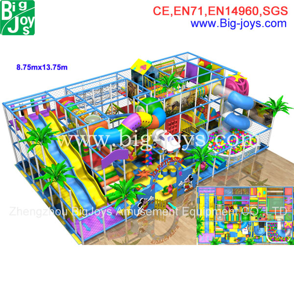 Birthday Party Facilities soft Indoor playground for children BJ-GXIP16185