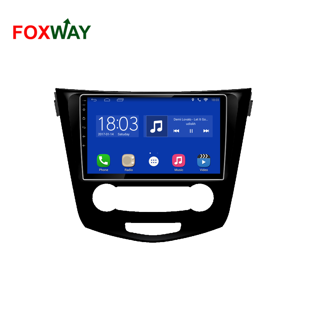 4G LTE CarPlay car auto radio for nissan qashqai with dvd payer