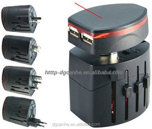 Multifunction Power Adapter International US UK EU AU Plug Adapter World Wide Adaptor All IN One Travel Adapter