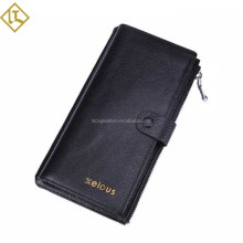 2015 casual full grain genuine leather men's wallet