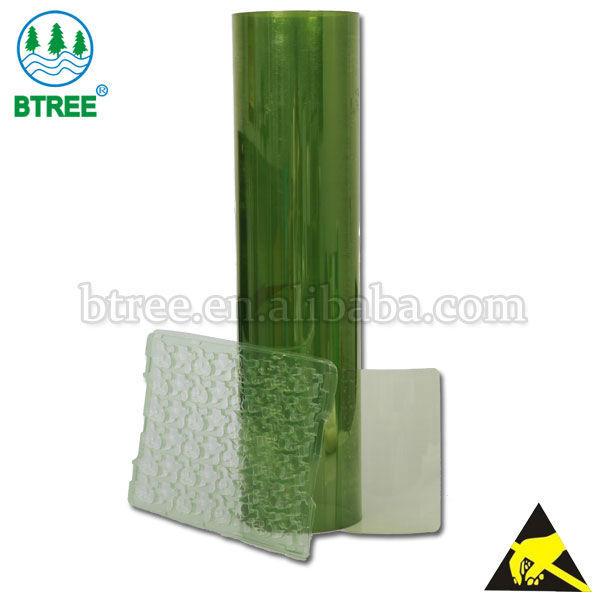 Btree anti static plastic sheet roll