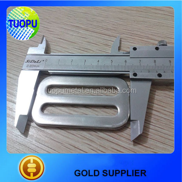 High quality metal adjustable slide buckle for webbing