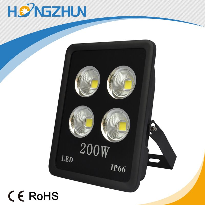 Hot product aluminum housing AC85-265v 100w 200w waterproof led flood lamp
