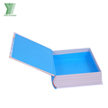 Custom printing fake book shaped perfume packaging storage box