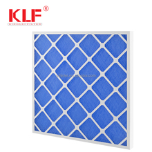Glass fiber media AHU replacement panel filter for air filtration system