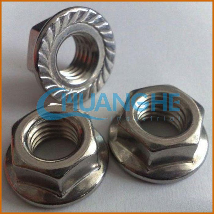 hardware al6xn 1.4529 alloy926 hex flange cap nut small screws wood stainless steel insert nuts