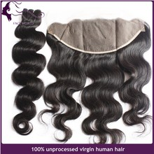 High quality 13x6 ear to ear lace frontal indian human hair closure for black women
