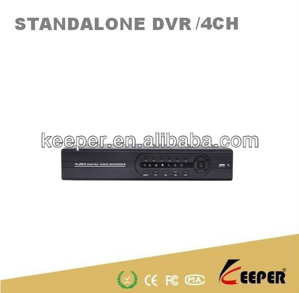 4CH Digital Video Recorder Network DVR Real time D1 recording,4ch D1 playback