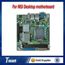 For MSI IM-Q35 original motherboard LGA 775 DDR2 Dual Gigabit Ethernet, soft route Mini-ITX 170*170mm Desktop Motherboard