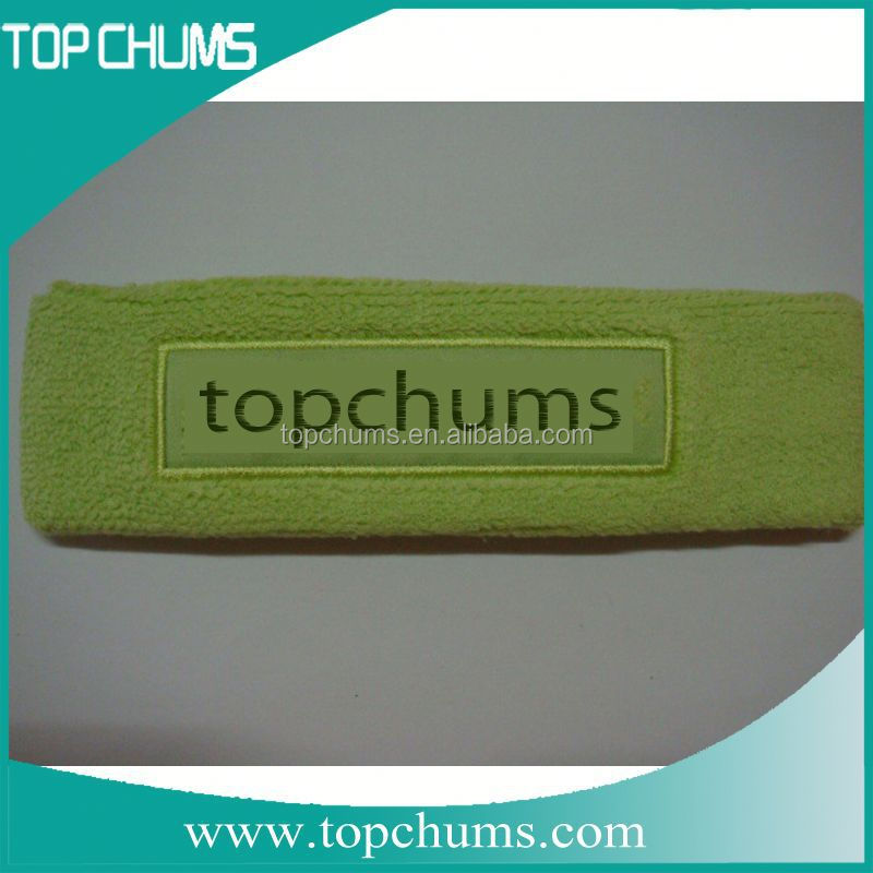 Terry Funny LOW MOQ high quality terry sport hair band