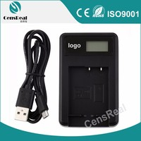 Universal Battery Charger Top Quality LCD display USB camera battery charger for Minolta NP400/D-LI50