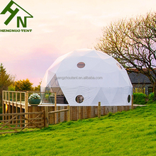 PVC Fabric Custom Camping Glamping Resort Tents For Sale