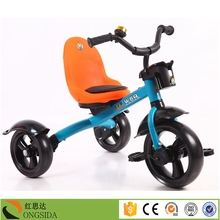 2016 New Model 1.2mm High Carbon Steel Cheap Price Baby Tricycle for Kids Ride On Toy Style Kids Tricycle