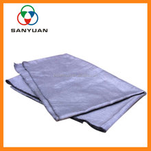 Glass making industry pure stainless steel fiber metallic woven fabric