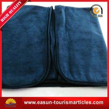 Cheap military army blankets for hotel use travel with bag
