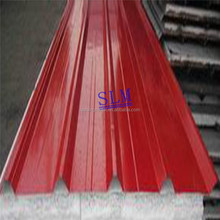 High Quality corrugated steel sheet China Color Coated PPGI insulated corrugated sheet prices for Building
