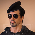 High Quality Lifesize Movie Star Stallone Resin Sculpture for Sale