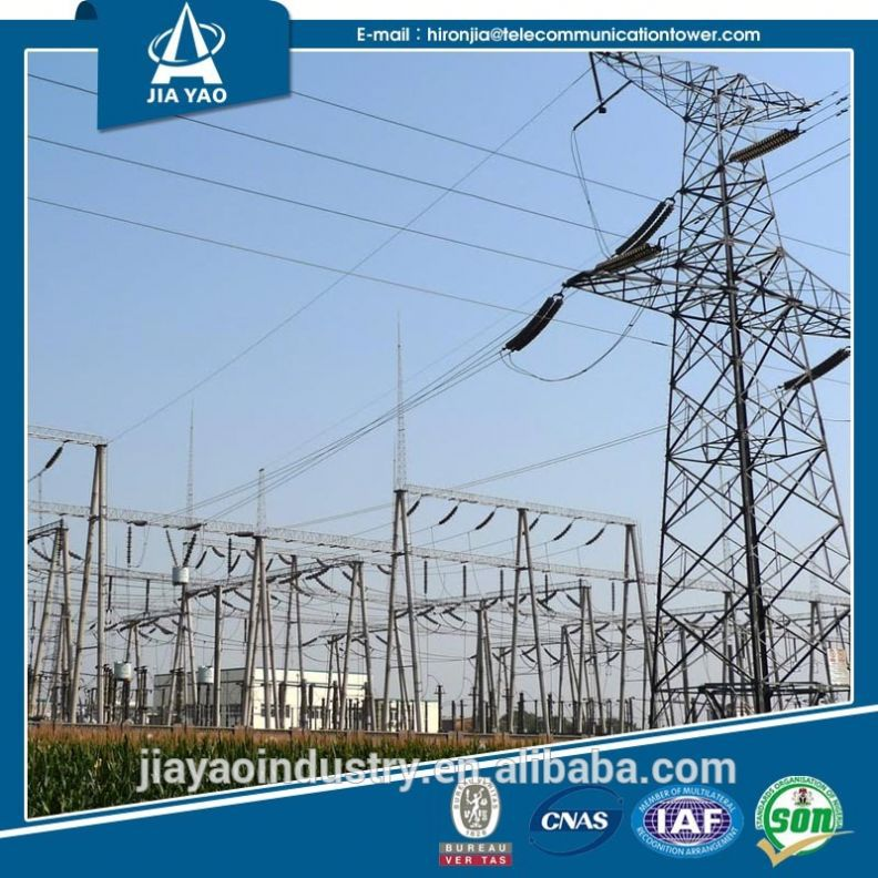 110kv lattice steel Electric Power Substation