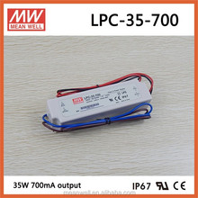 LPC-35-700 Meanwell 35W 700mA led driver