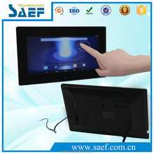10.1 inch 1024x600 tablet built-in android 4.4 lcd advertising display screen