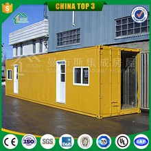 portable modified container house/ movable prefabricated container with wheels /cheap prefab shipping container home