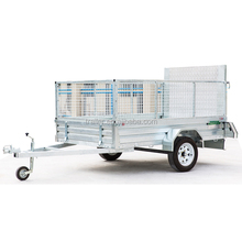 best Galvanized Caged Utility Box Trailer For Sales